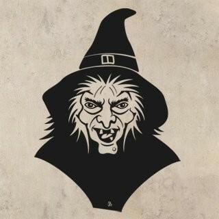 Samolepka na zeď Čarodějnice 002