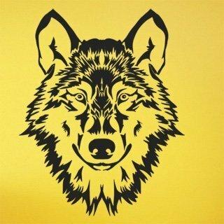 Samolepka na zeď Vlk 1411