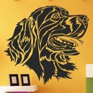 Samolepka na zeď Pes 006