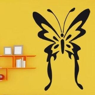 Samolepka na zeď Motýl 001