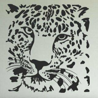 Samolepka na zeď Tygr 008