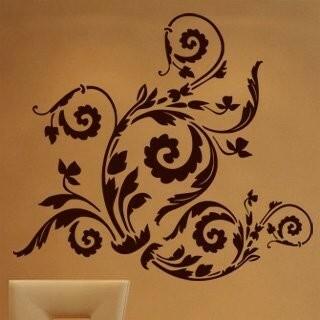 Samolepka na zeď Ornamenty z rostlin 010