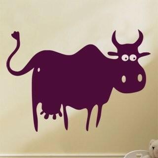 Samolepka na zeď Kráva 004