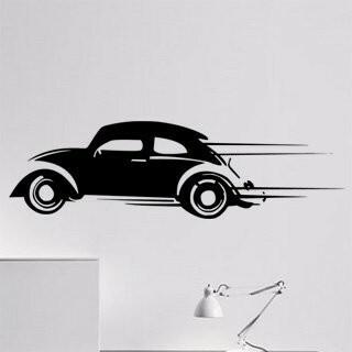 Samolepka na zeď Auto 024