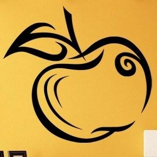 Samolepka na zeď Jablko 001