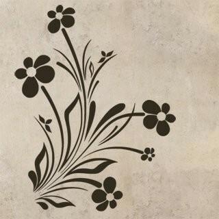 Samolepka na zeď Květiny 037