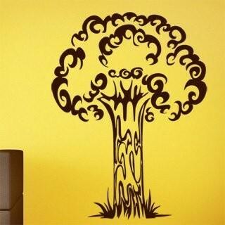 Samolepka na zeď Strom 011