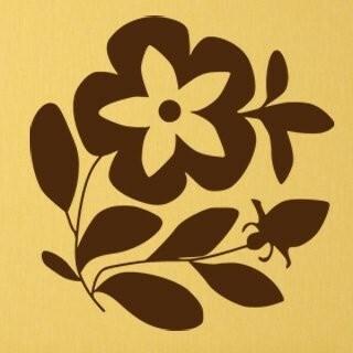 Samolepka na zeď Květiny 022