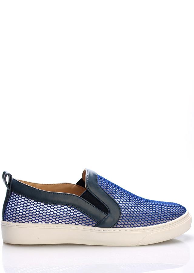 Modré nazouvací boty Trendy too - 38