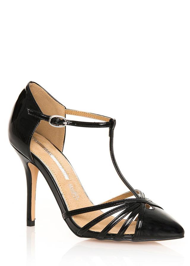 9e456e3ff64a Černé sandály na jehlovém podpatku MARIA MARE(96108) - 3