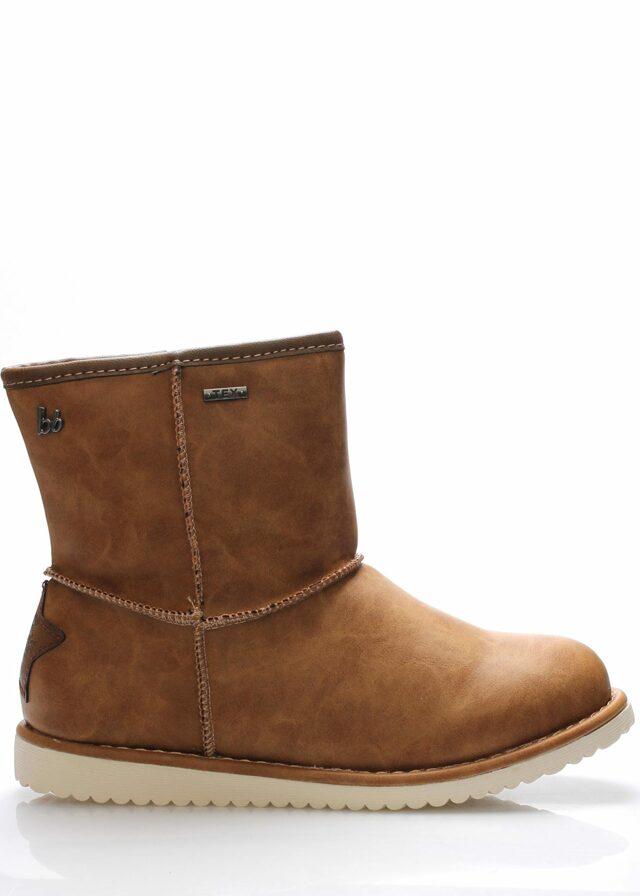 Hnědé zimní boty Bruno Banani - 40