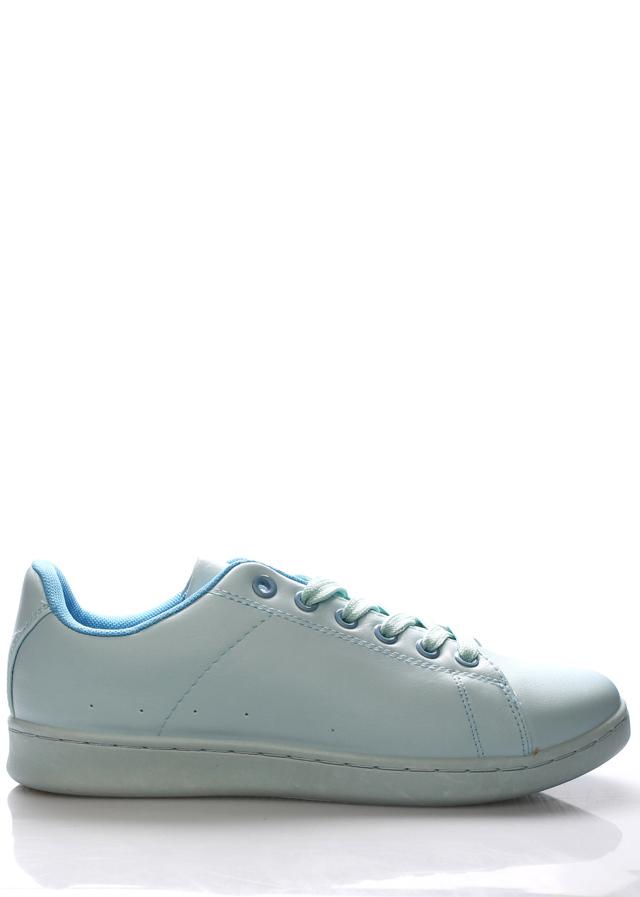 Světle modré tenisky Monshoe