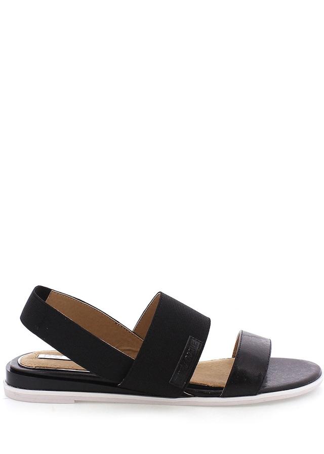 Černé elastické sandálky MARIA MARE - 40
