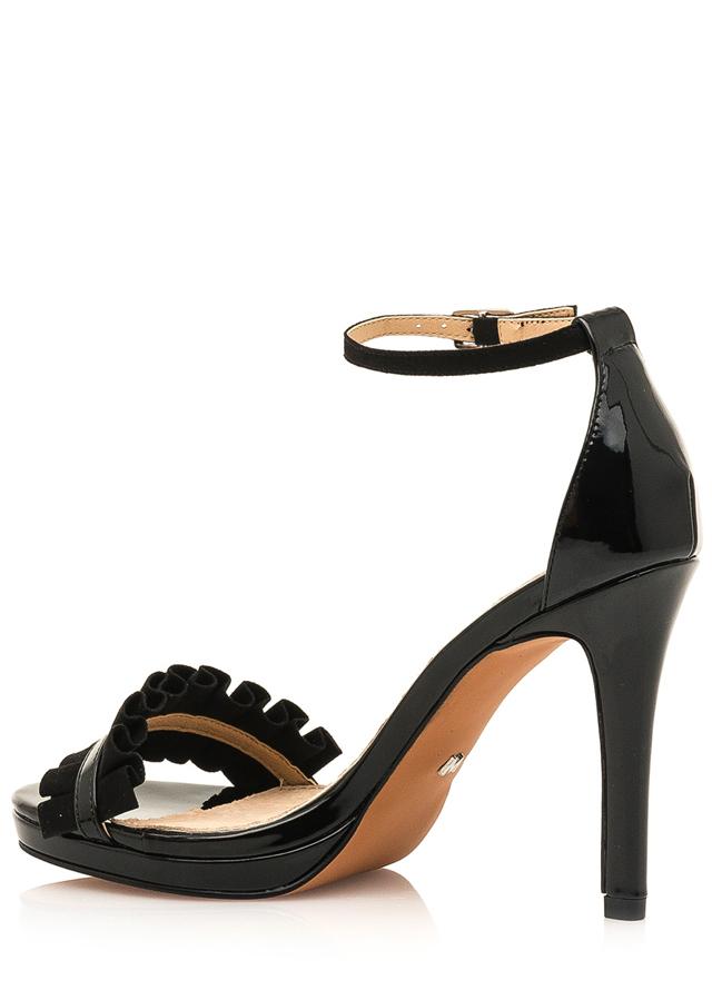 e4470e1b50 Černé sandálky na vyšším podpatku Maria Mare(1078883) - 2