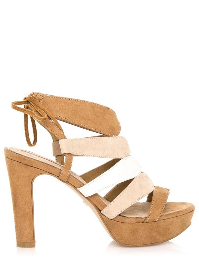 Hnědé extravagantní sandály Maria Mare - 38 b160c96f6e
