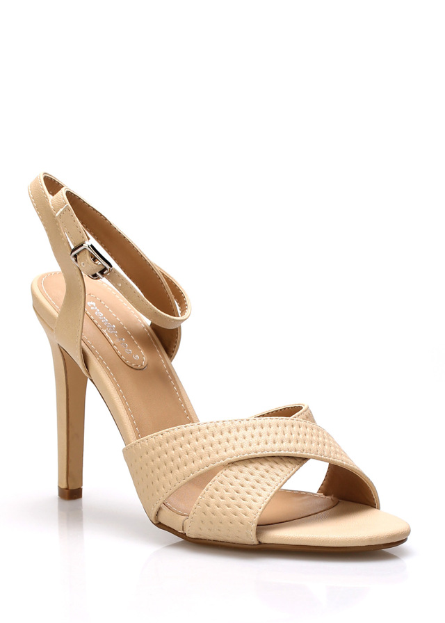 ab679b7a0880f Béžové sandály na podpatku Trendy too(149666) - 3