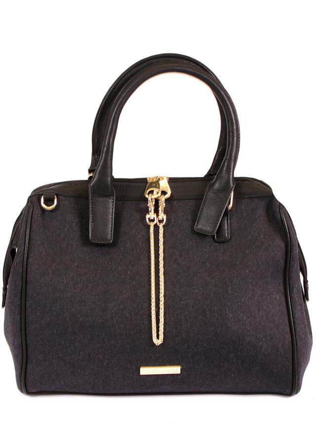 Černá kabelka do ruky MARIA MARE