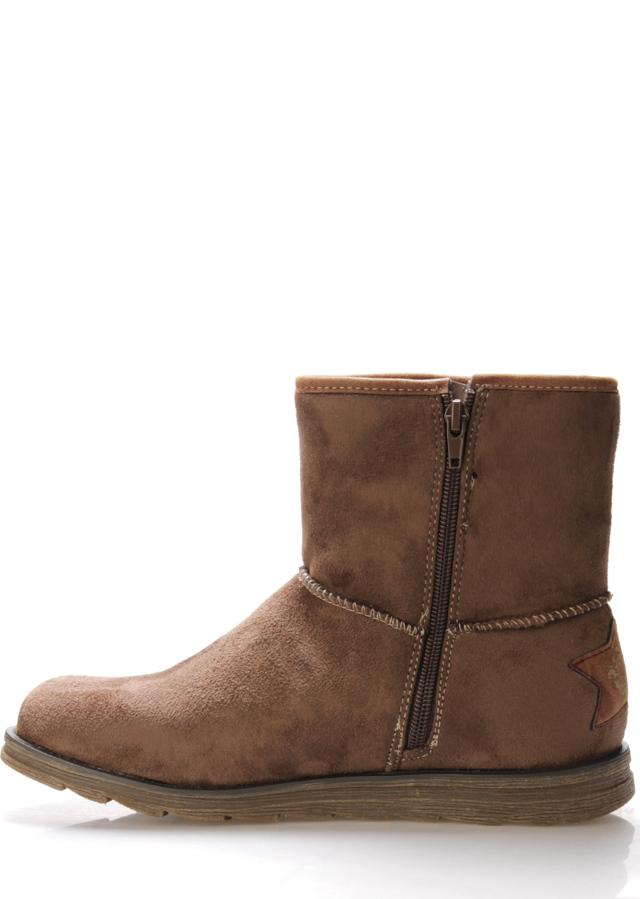 bcc5ecb8e371d Hnědé zimní boty s kožíškem Bruno Banani(807178) - 3