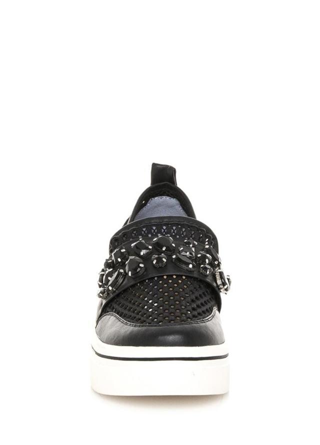 Černé nazouvací boty na platformě Maria Mare(326933) - 3 f294555b823