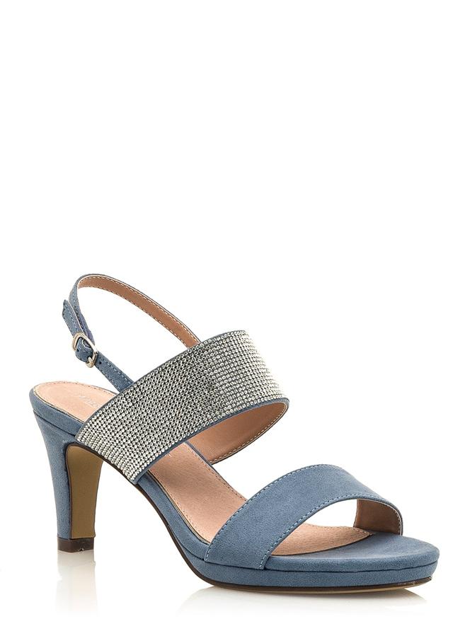 d340ec322f Modré sandálky se širšími pásky Maria Mare(1082893) - 2