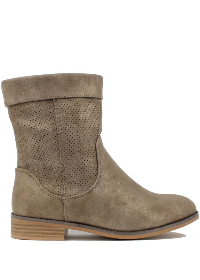 Hnědé letní kozačky H3 shoes - 36