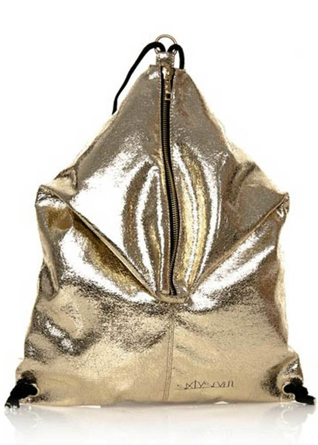 Zlatý pytlový batoh Sixtyseven