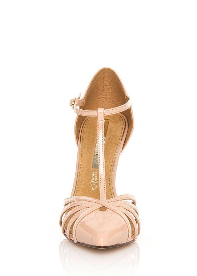 Béžové sandály na jehlovém podpatku MARIA MARE(96107) - 4 a82be1b652