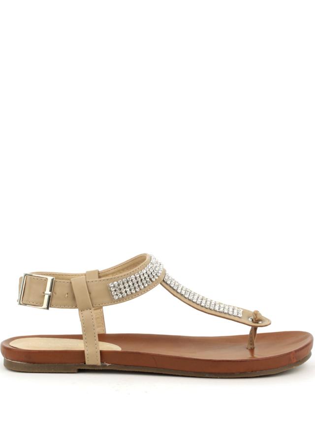 ee6e3cdd88 Letní sandály Claudia Ghizzani v béžové
