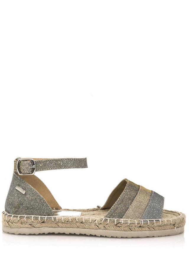 Třpytivé espadrilové sandálky MTNG