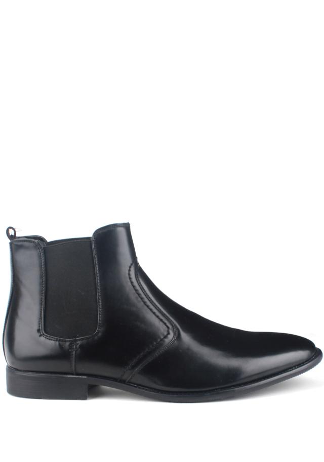 Černé pánské kotníkové boty Bottesini - 45