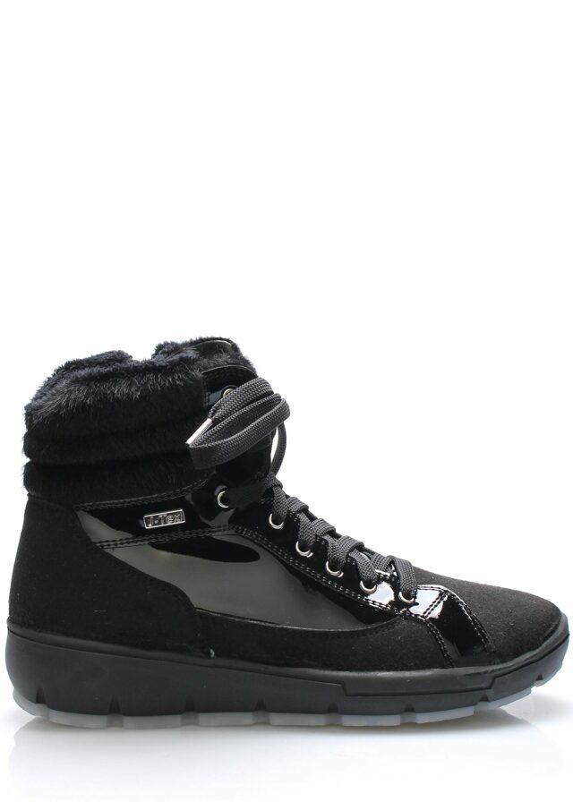 Černé italské zimní boty M&G - 40