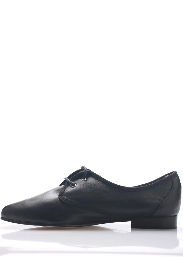 0b2452e8efb Černé kožené boty se špičkou Maria Jaén(12068) - 2