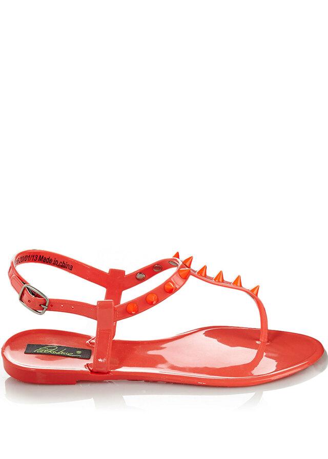 ba039a4a6a Park Lane Shoes Korálové plastové jelly sandálky s hroty Park Lane