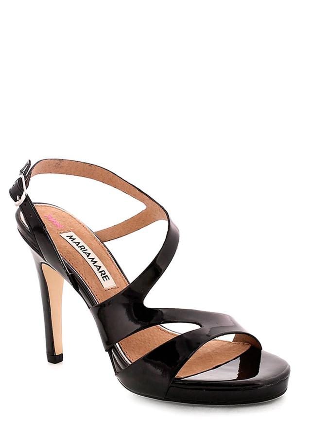 602c2f59a803 Černé sandály na podpatku MARIA MARE 36(12055) - 2