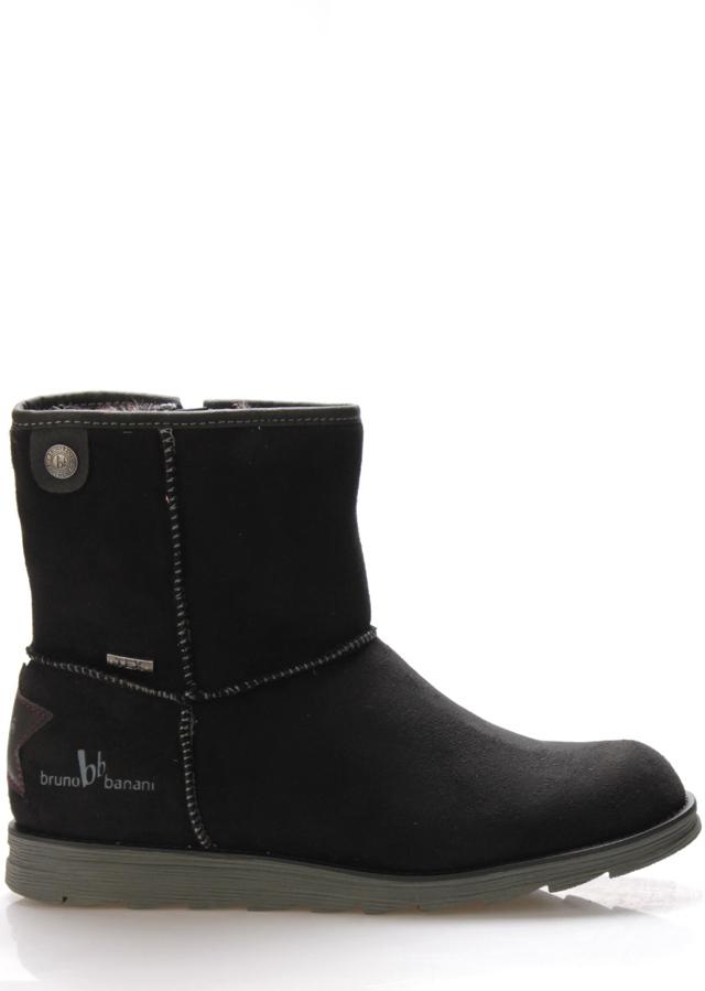 Černé zimní boty s kožíškem Bruno Banani a8081d5c91