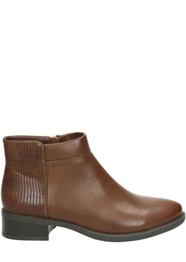 Hnědé kotníčkové boty Maria Mare