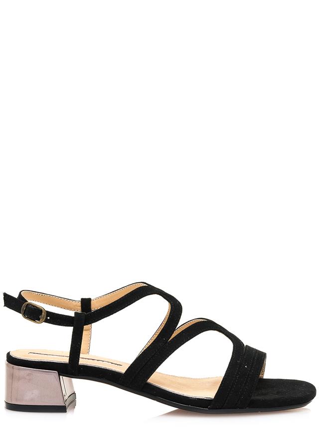 ae9c9c2242c1 Černé sandály se širokým podpatkem Maria Mare(1078885) - 1