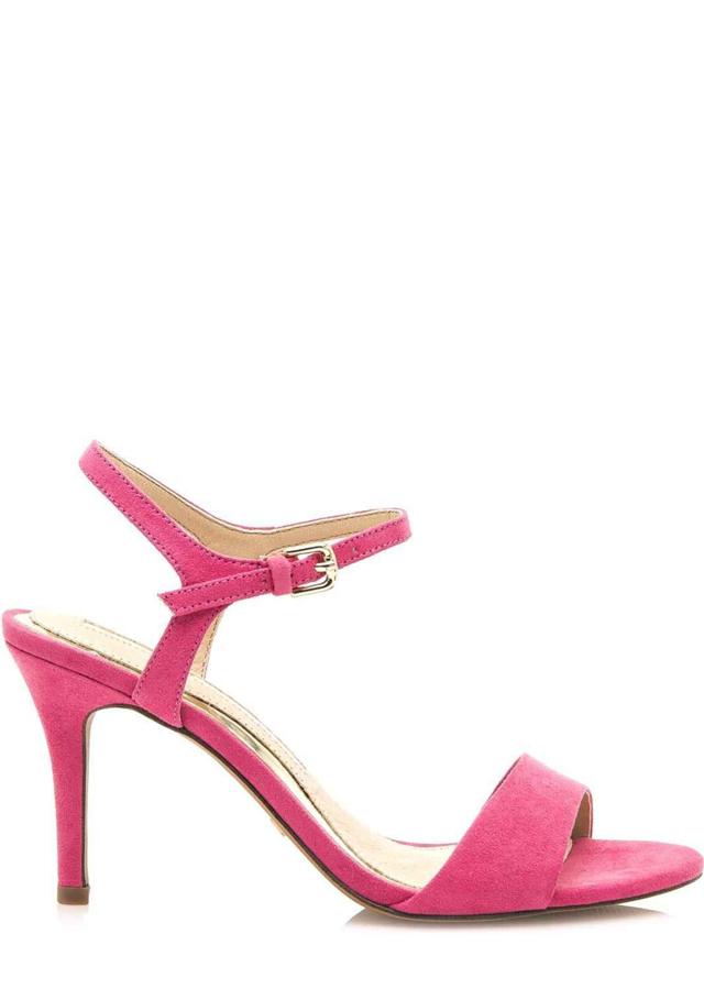 05bfcd77eabe Růžové sandály na jehlovém podpatku Maria Mare - 39