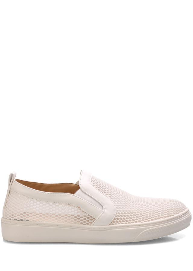 Bílé síťované nazouvací boty Trendy too - 40