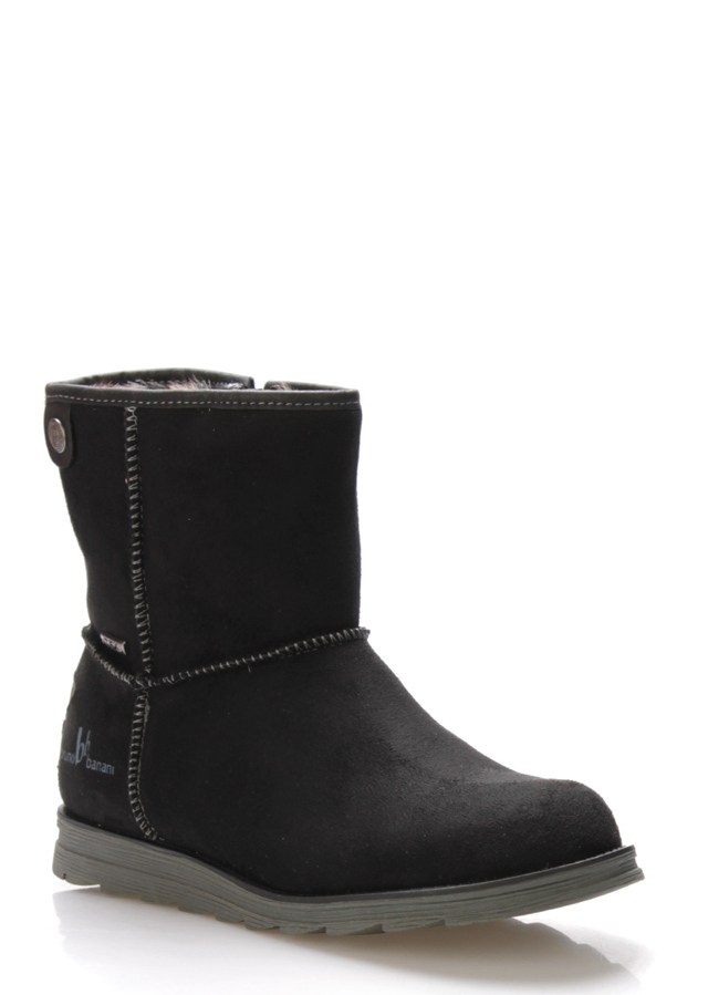 Černé zimní boty s kožíškem Bruno Banani(807177) - 5 def2e3cdaa