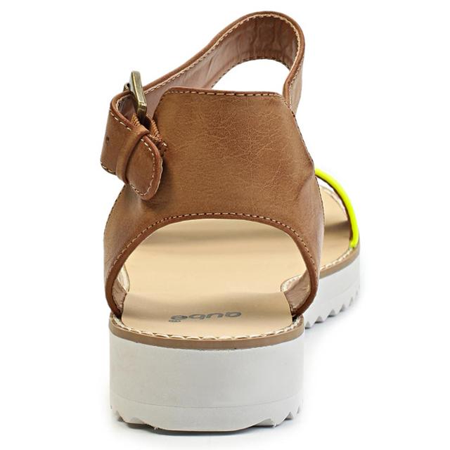 7d1daa6b2ad9 ... Páskové žluté sandály na platformě Timeless Quing (4136) - 4 ...