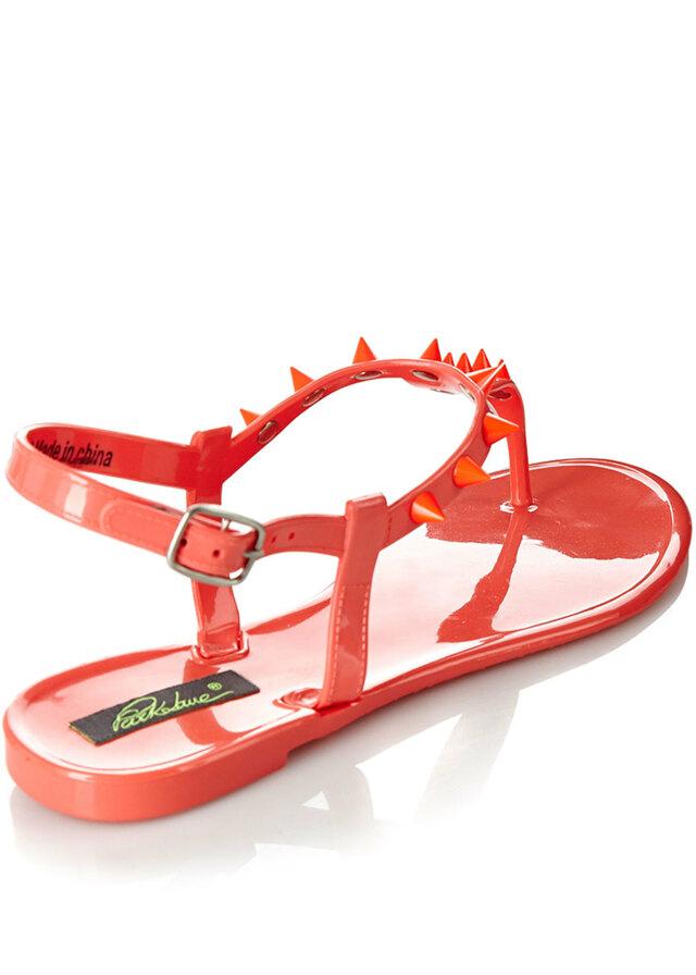 00589d7074 Park Lane Shoes Korálové plastové jelly sandálky s hroty Park Lane(4127) - 4