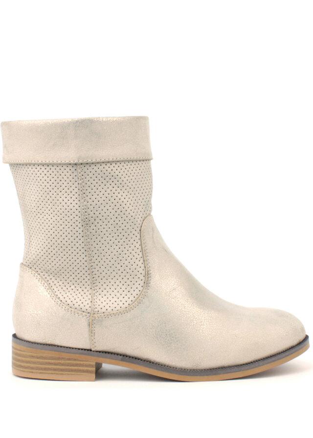 Šedé letní kozačky H3 shoes - 40