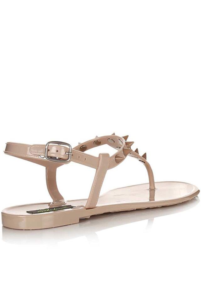 85d955446f Park Lane Shoes Béžové plastové jelly sandálky s hroty Park Lane(4126) - 3