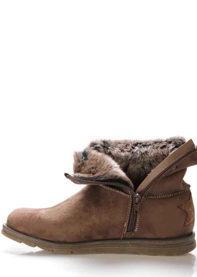 5c7cf91629d22 Hnědé zimní boty s kožíškem Bruno Banani(807178) - 5