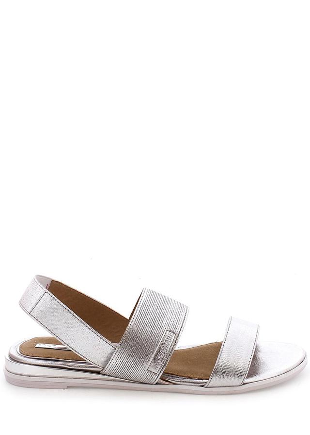 Stříbrné elastické sandálky MARIA MARE