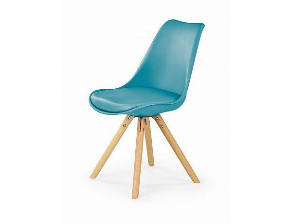 Jídelní židle K201, tyrkysová