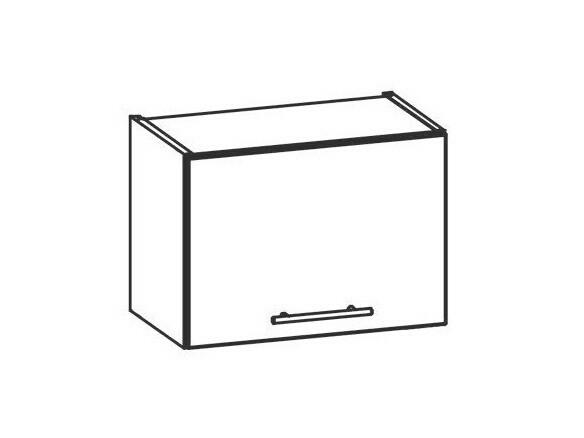 TIFFANY, horní skříňka nad digestoř G50O, bílý lesk