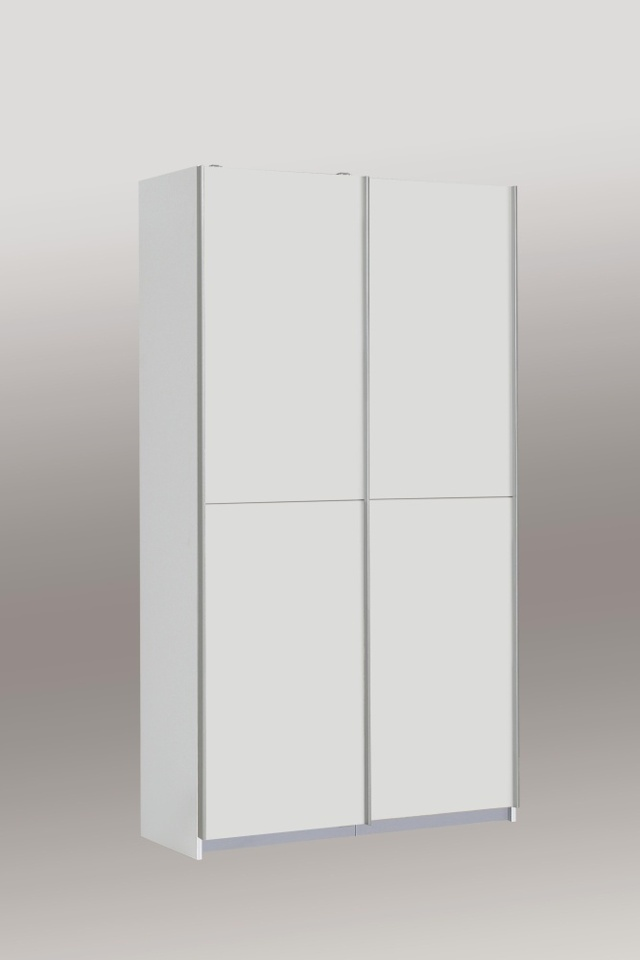 Forte OHIO, šatní skříň OHS722X4, bílá
