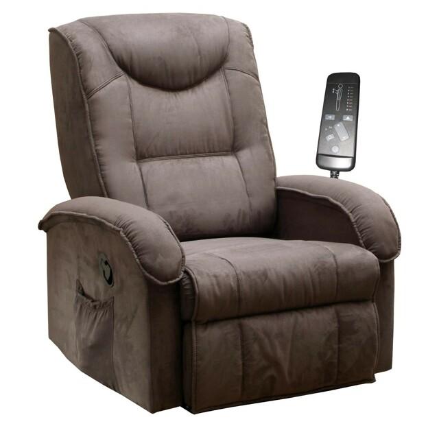Smarshop Relaxační křeslo K38-BOBY, hnědé